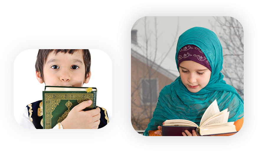 boy and girl in quran class online uk